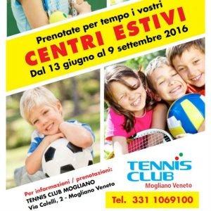 Centri estivi di tennis 2016 Mogliano | TC Mogliano