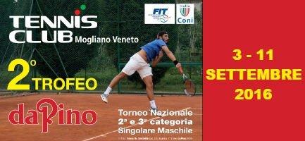Trofeo Da Pino settembre 2016 | TC Mogliano